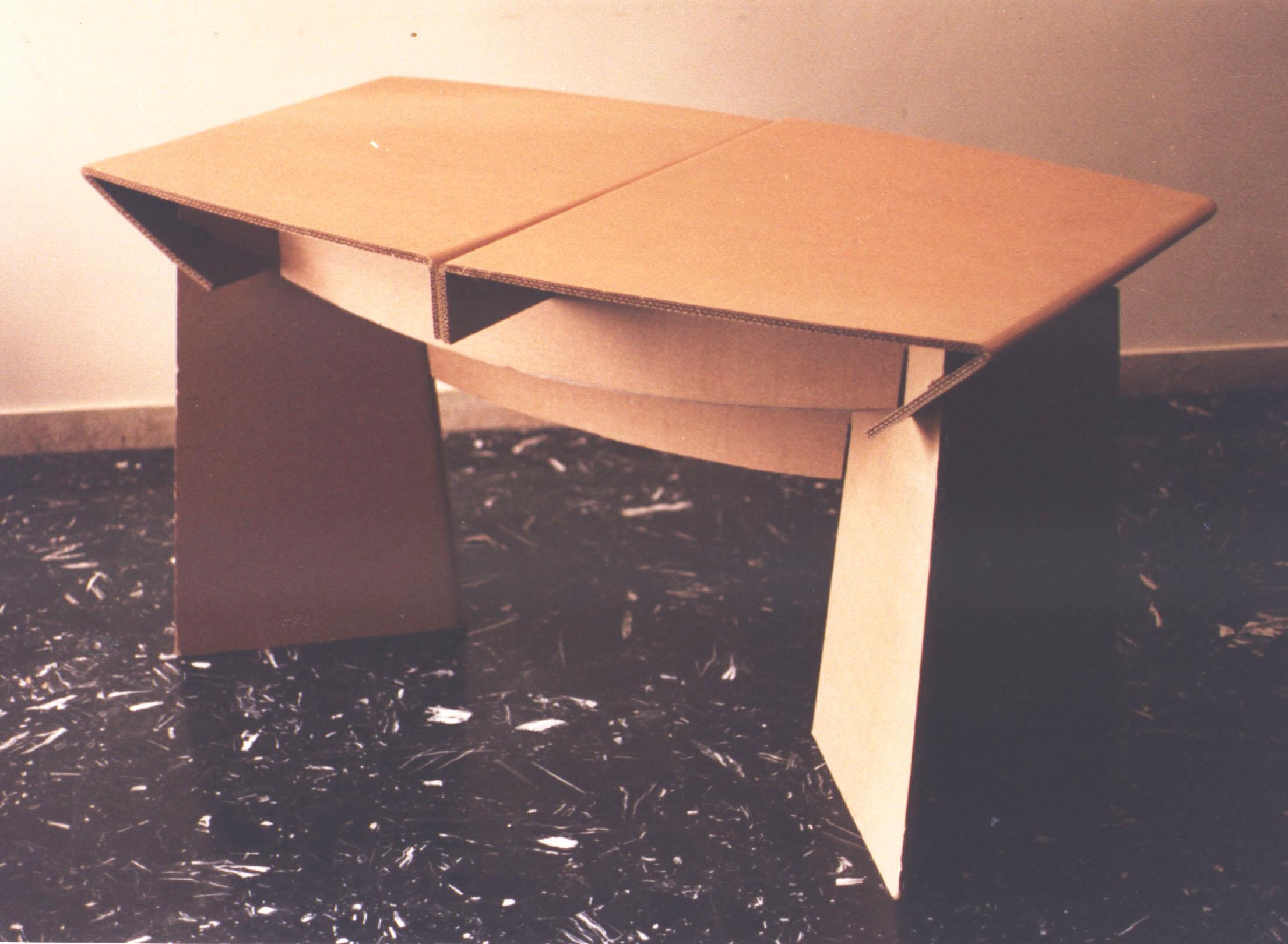 cartone tavolo
