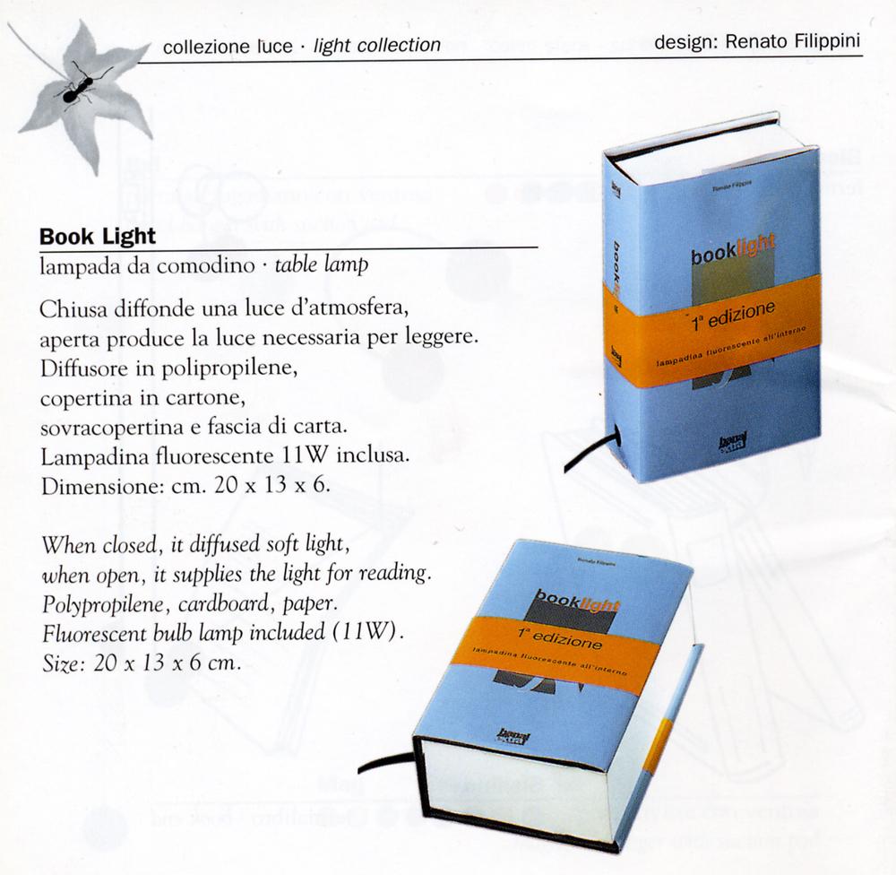 design catalogo book light