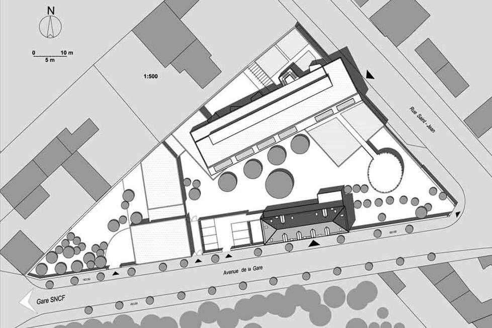 Vincelles plan masse