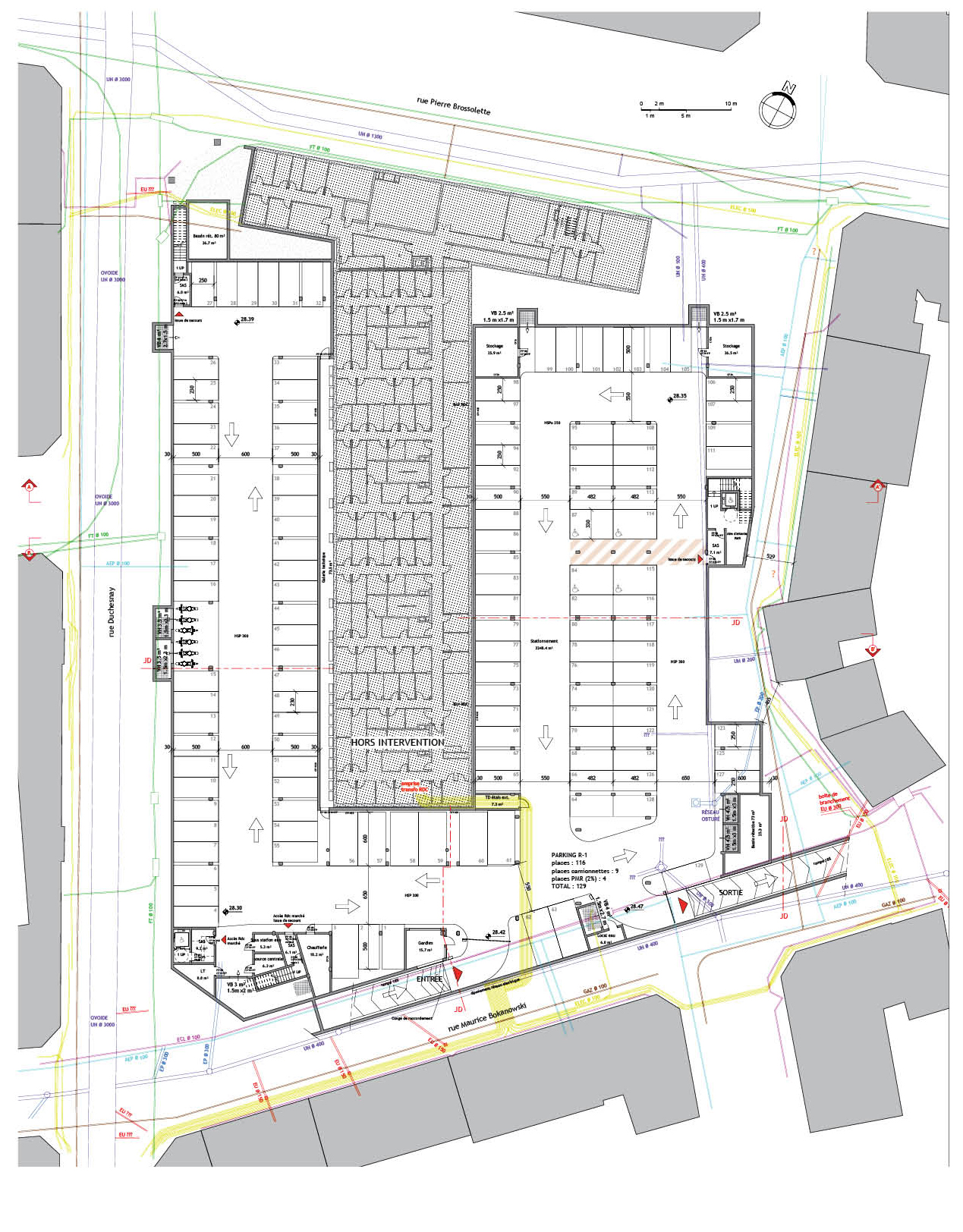 ATELIER FILIPPINI Plan Parking Asnières