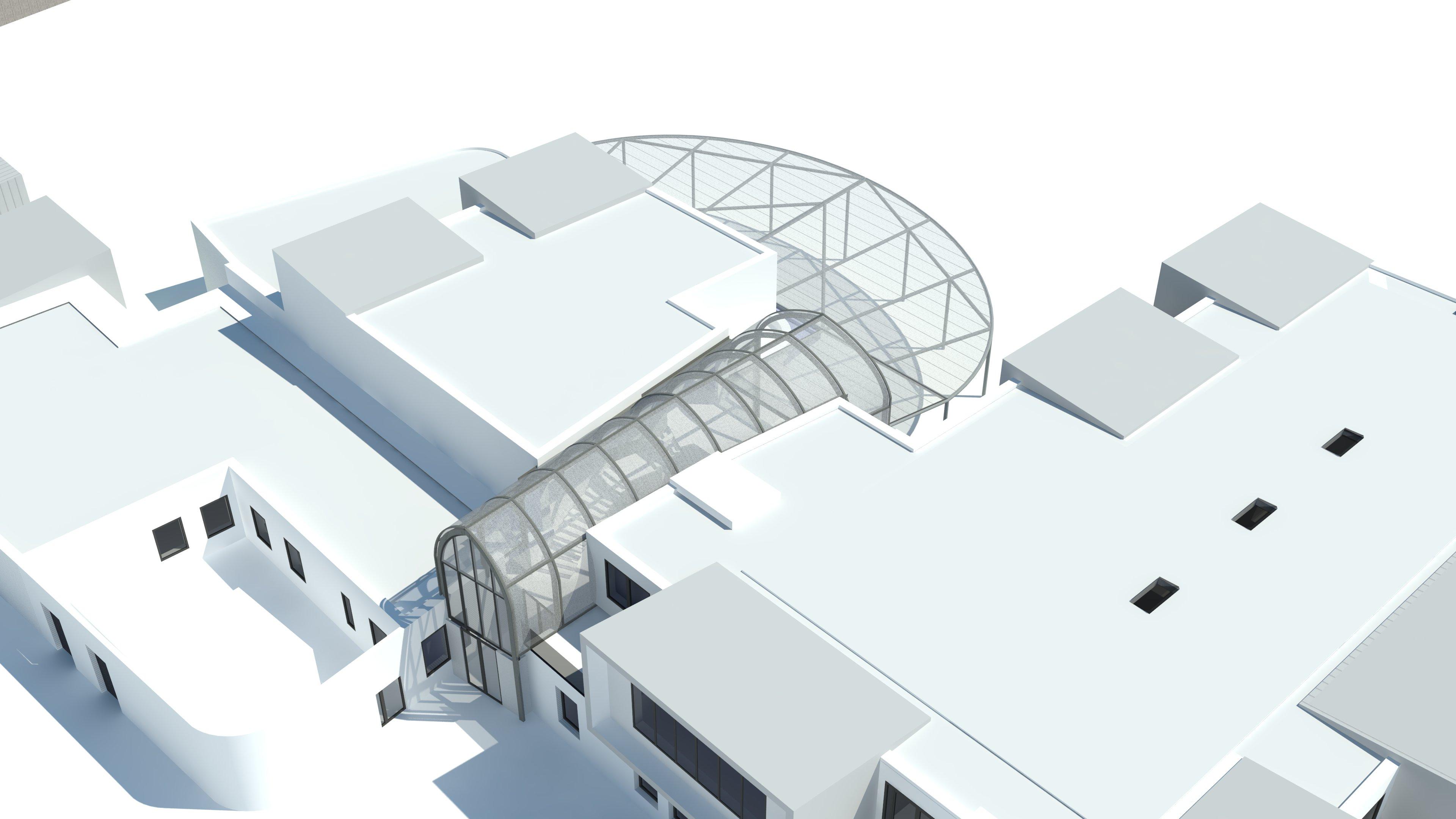 ANNE FRANK- HALL AVEC ETFE