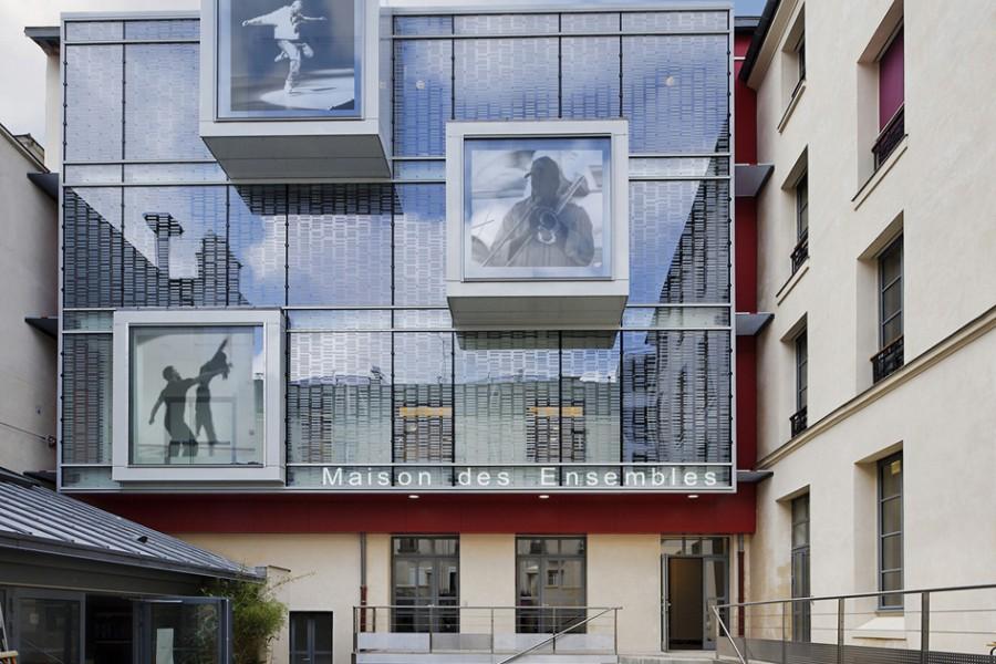 Batiment 3 rue d'Aligre Paris 12
