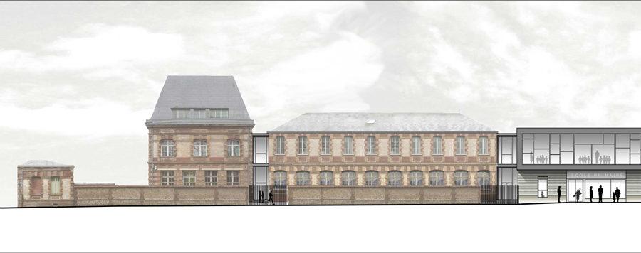 Louviers façade